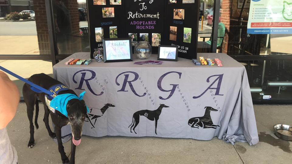 Racing to Retirement Meet and Greet Table