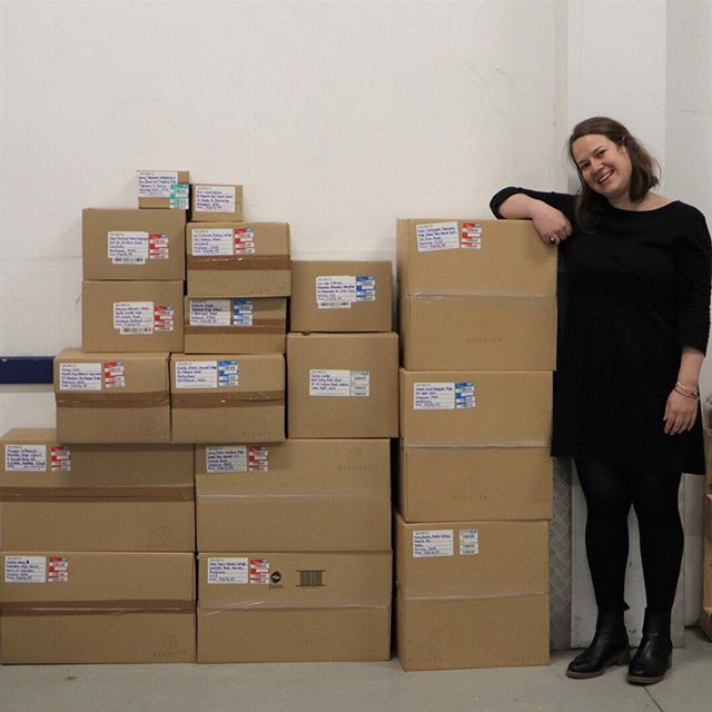 Exciting news, our term 3 give is on it's way! Keep an eye out for new stock arriving soon. ⠀⠀⠀⠀⠀⠀⠀⠀⠀ Featured here is the lovely Hester our operations manager. She helped us ship over 1,000 boxes of tampons, pads and menstrual cups this term, with more coming soon ❤ ⠀⠀⠀⠀⠀⠀⠀⠀⠀ ➡ Swipe to see our mountain of period products growing by the hour! Head to our link in bio to see if your school or community organisation is on our give list!