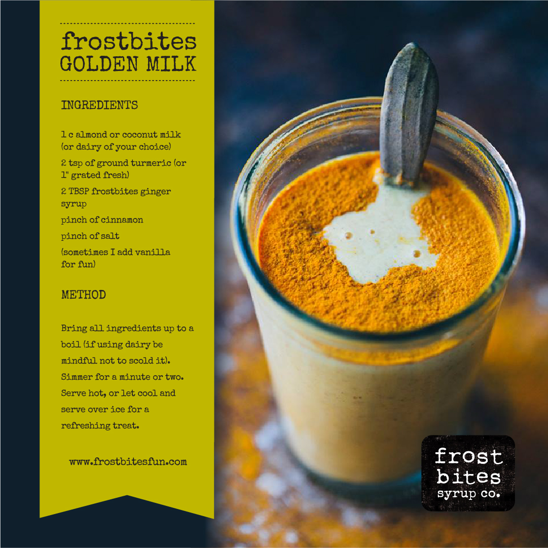 Frostbites Golden Milk