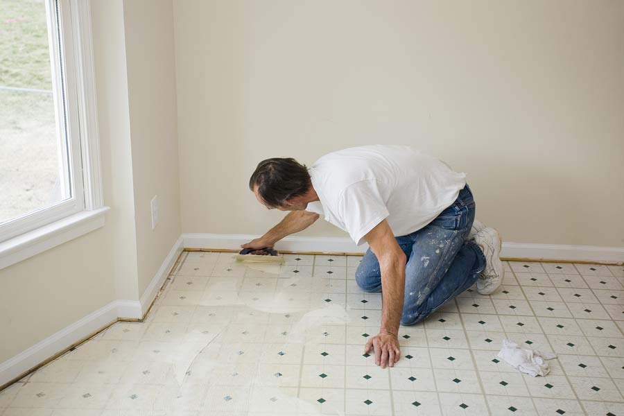The Truth About Asbestos Vinyl Flooring, Can You Put Laminate Flooring Over Asbestos Tile
