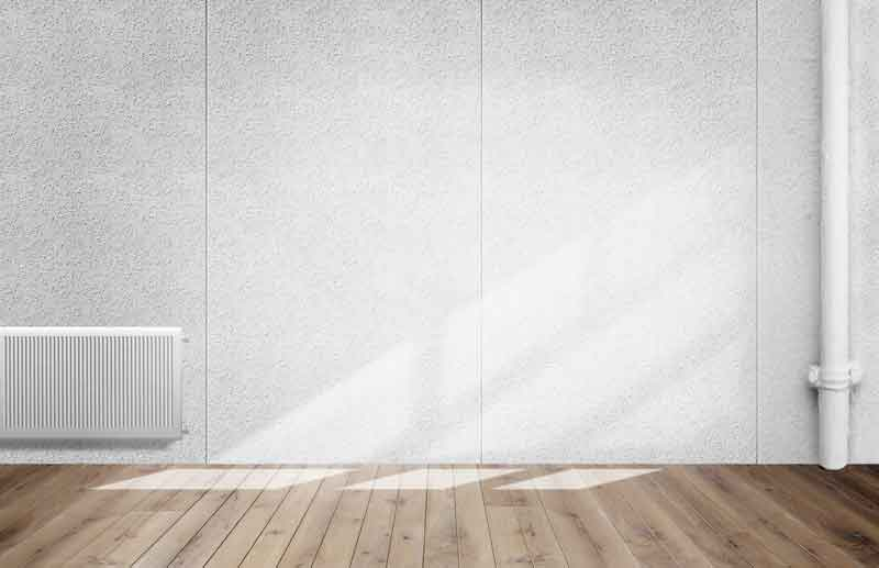Asbestos was a cheap lightweight material for wall panels -