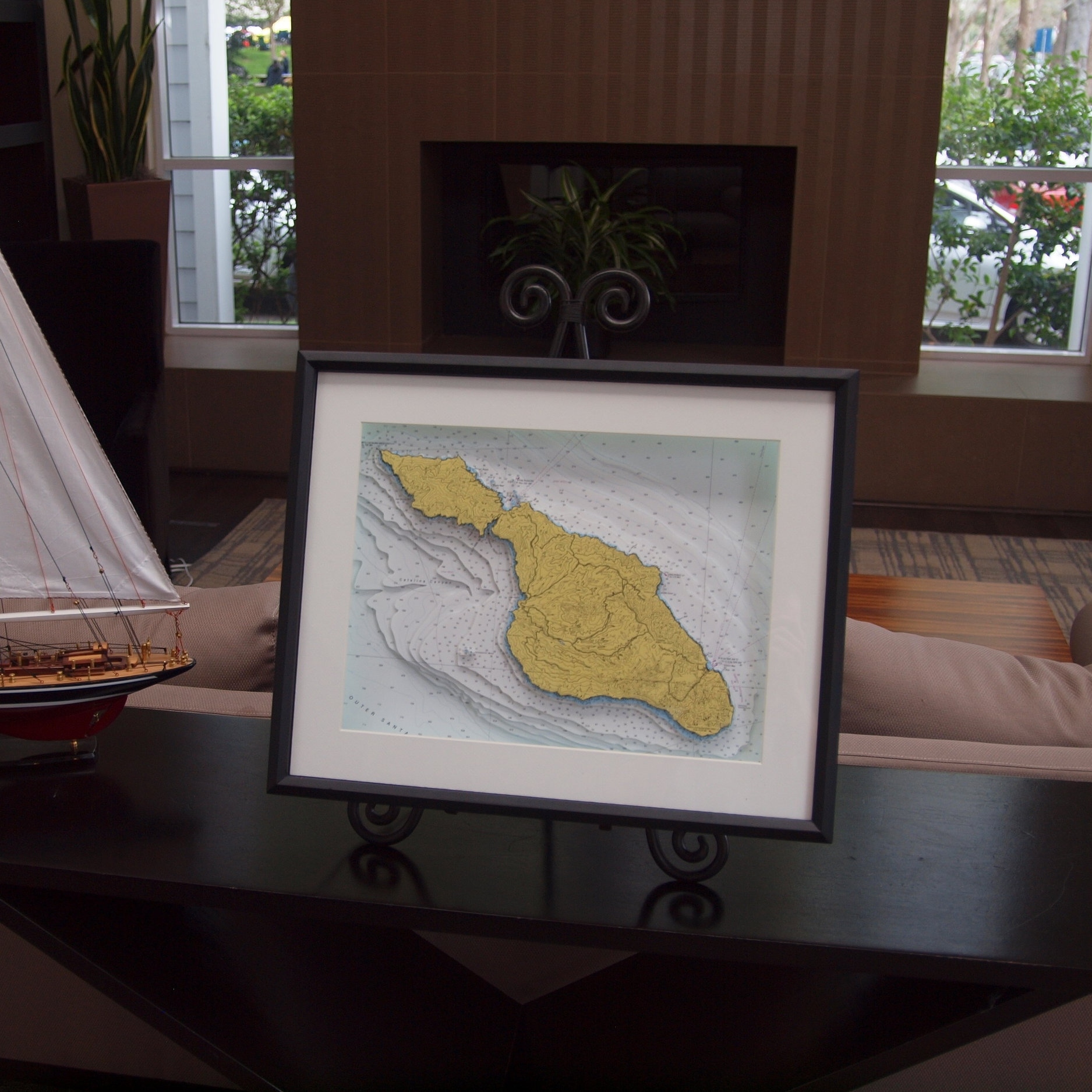 3D nautical chart of Catalina Island, California USA by Neptune Maps