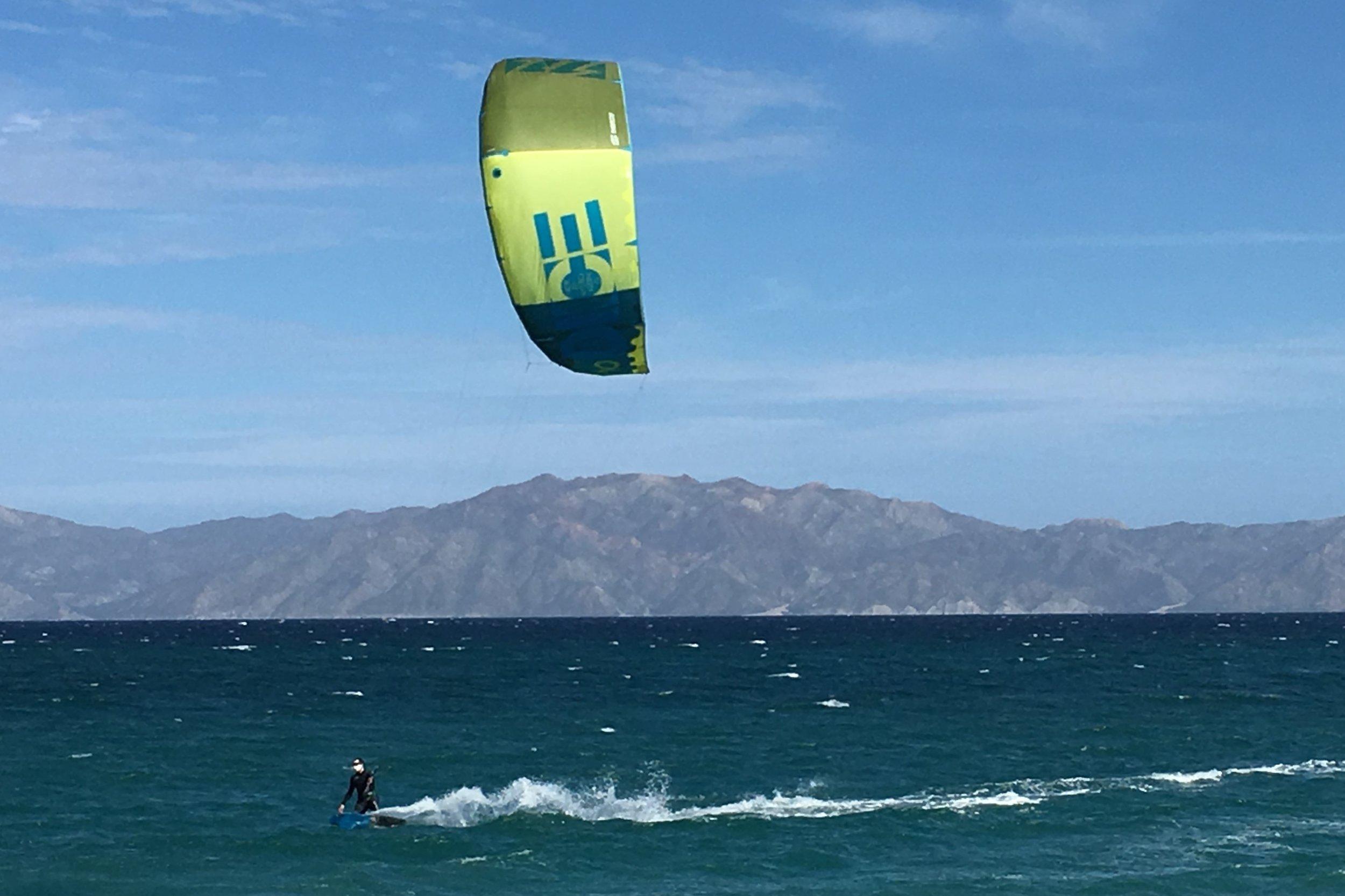 Kiteboarding La Ventana