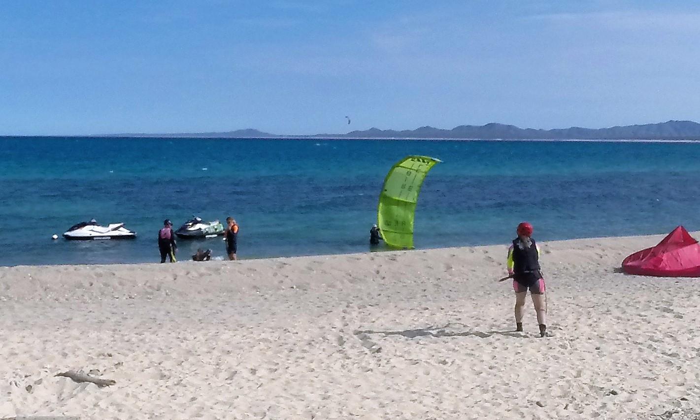 Kiteboarding lessons in La Ventana Mexico