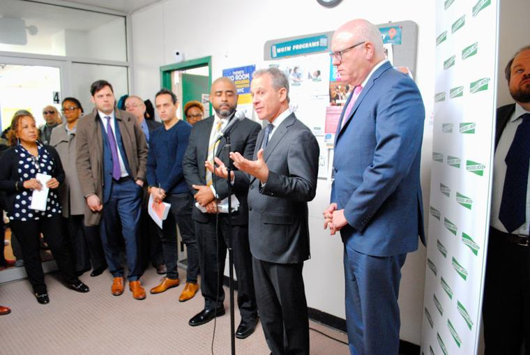 Crowley, Schneiderman Talk Renter Protection - the Queens Chronicle, 2018