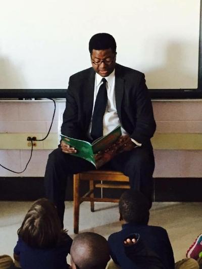 Pastor Neal guest reader.JPG