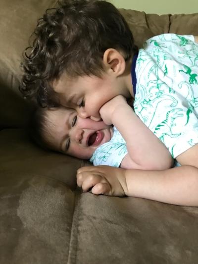 Caroline kisses.JPG