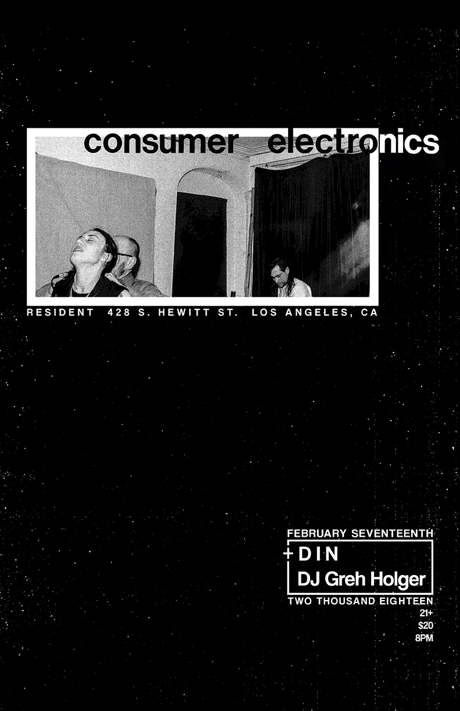 Consumer Electronics Flyer