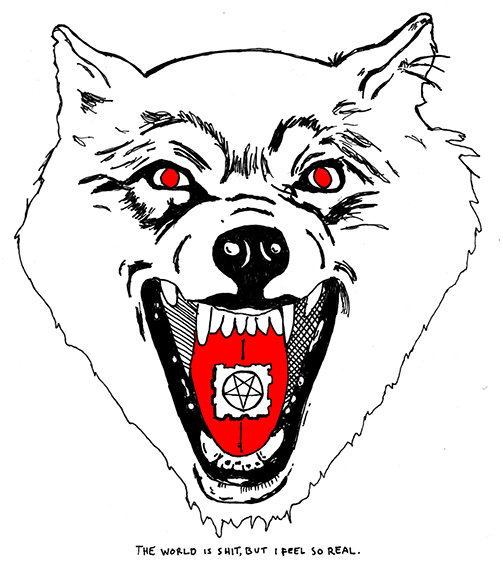 The Shrine Wolf Logo