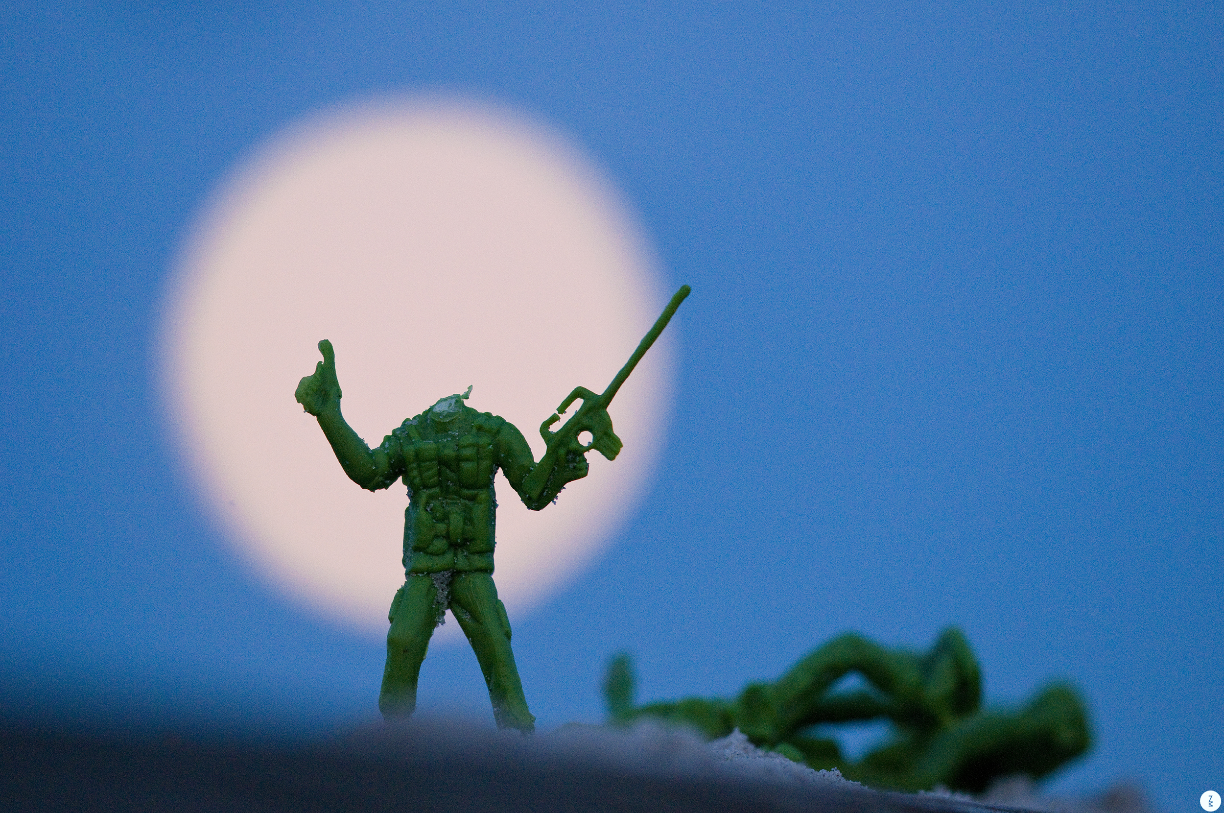 Army Man with a Moon for a Head   2012