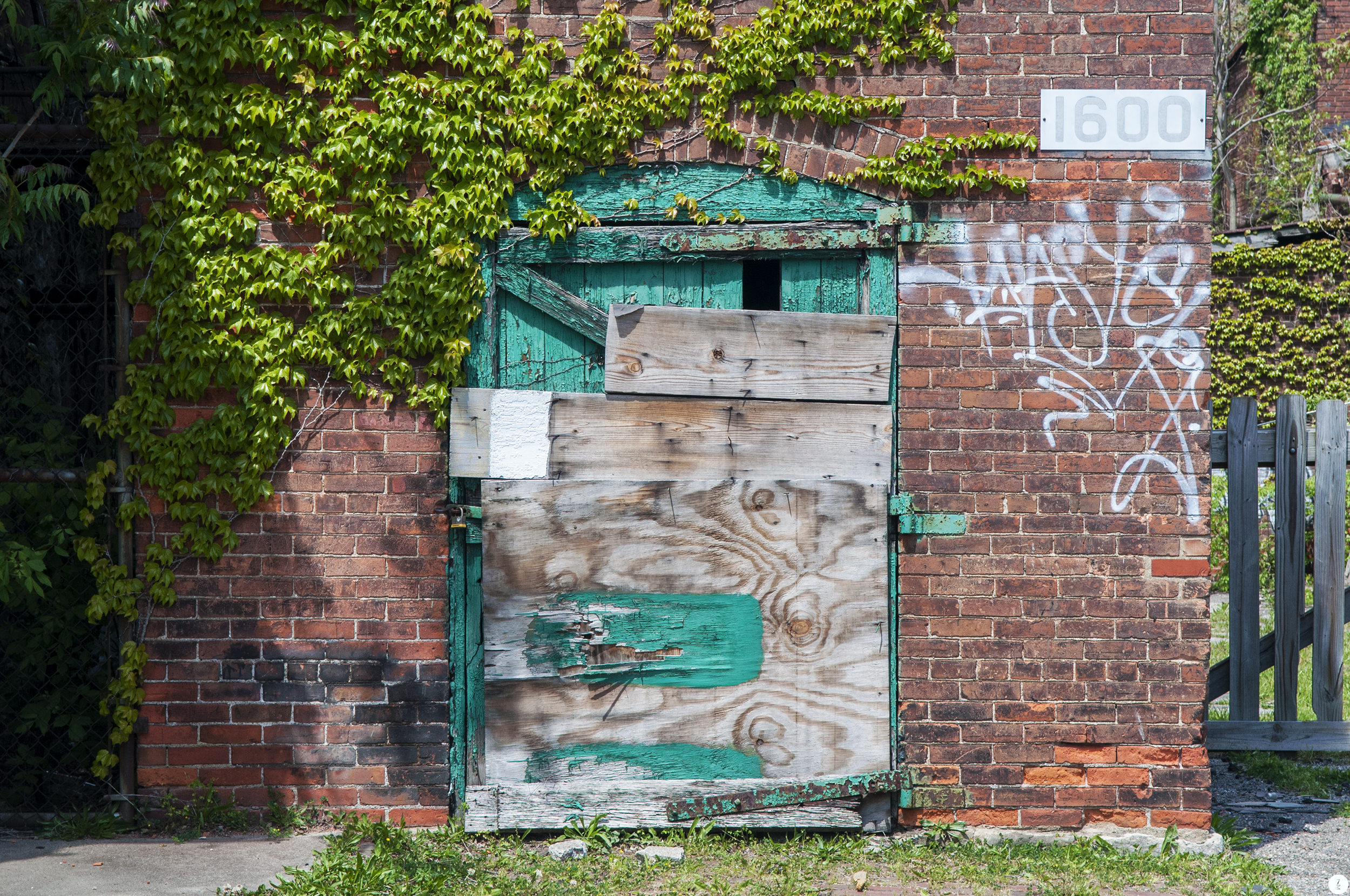 Teal Door   2012