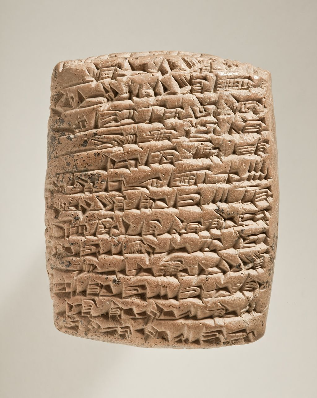 A cuneiform tablet that relays a lengthy story involving a scorpion, a frog, a woven basket, and a man who cannot distinguish oxen from fish.
