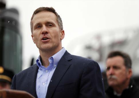 Governor Greitens. AP.