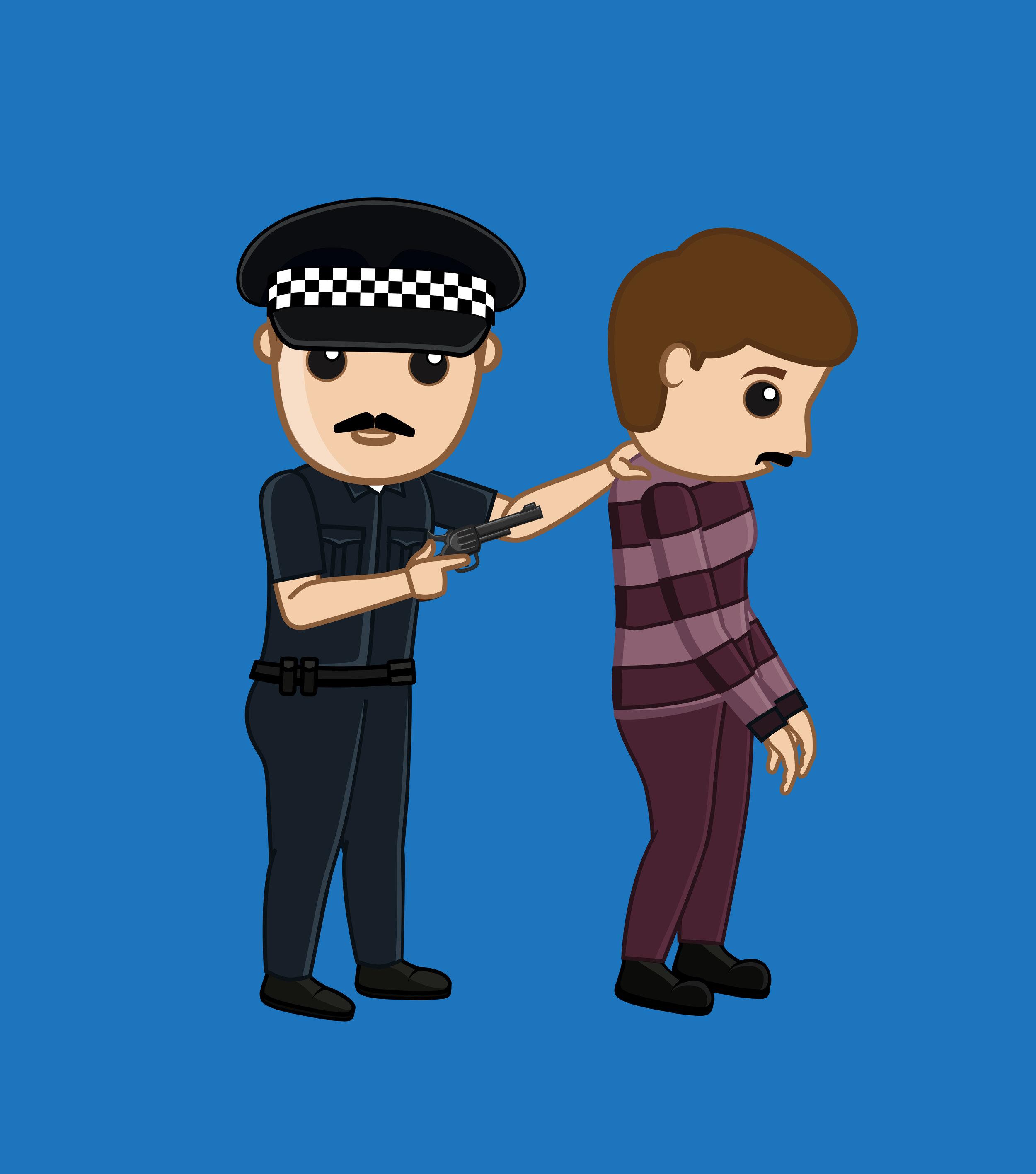 thief arrested shutst.jpg