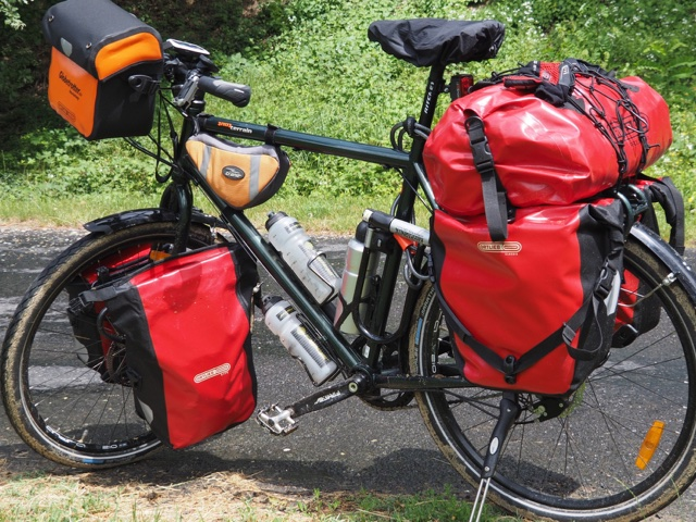 Hans-Jörg's bike: saddled up for cycling across Europe