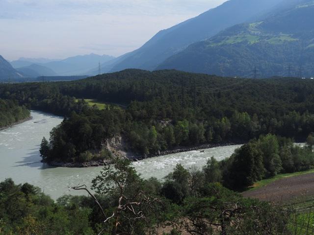 Cycling along the Inn River
