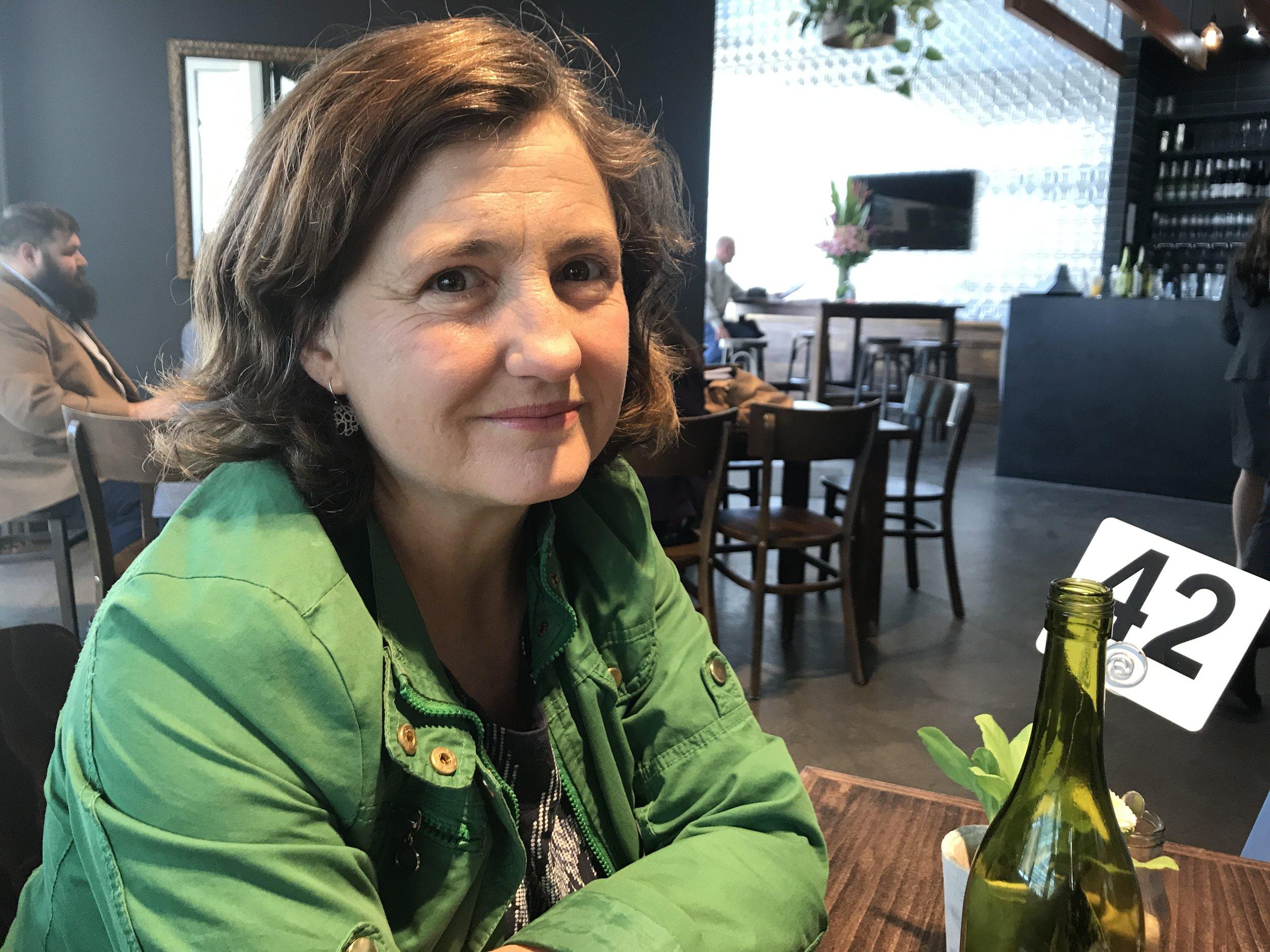 Rebecca Blackburn, interviewed by Slobodanka Graham at Equinox cafe, Canberra