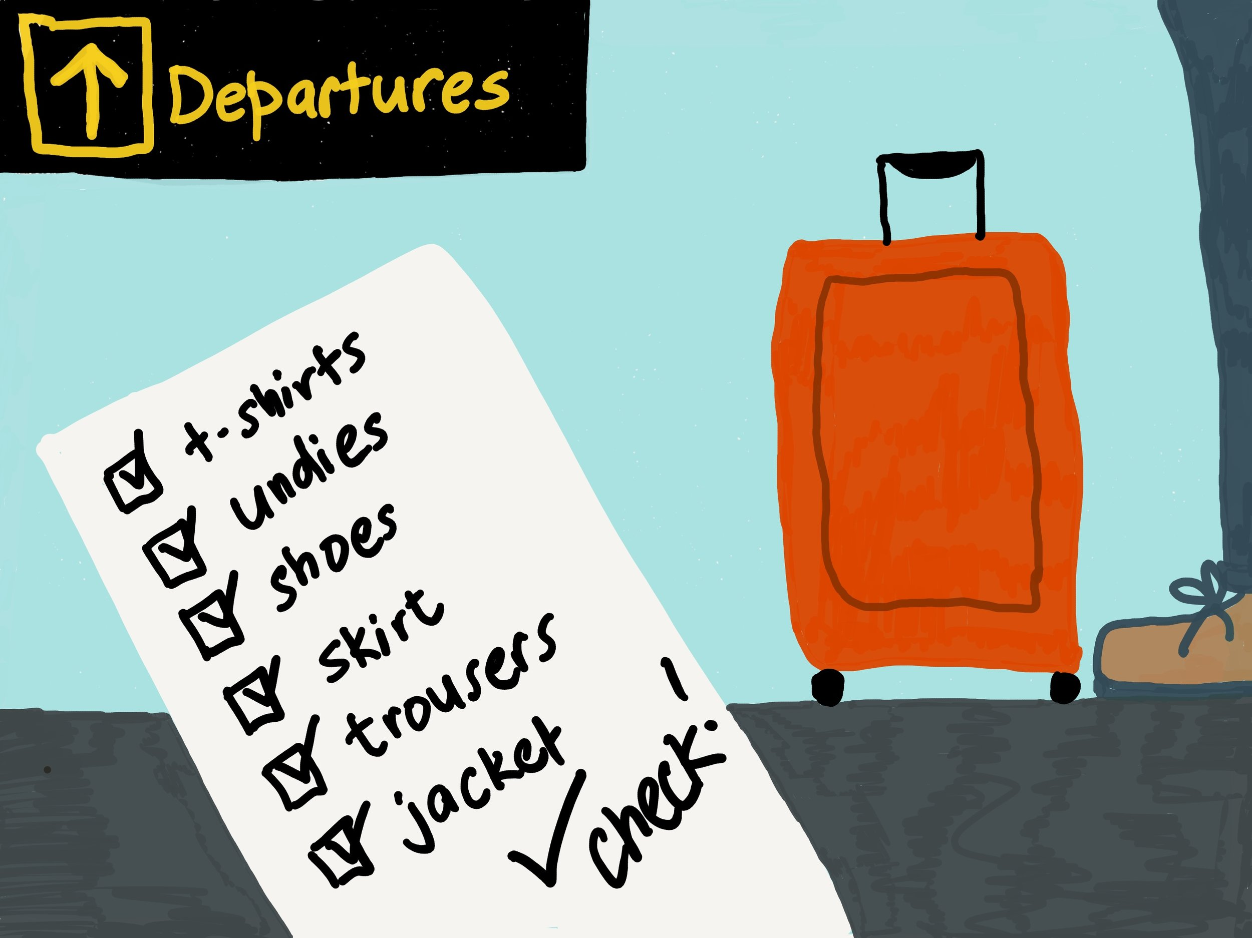 Travel light - packing guides