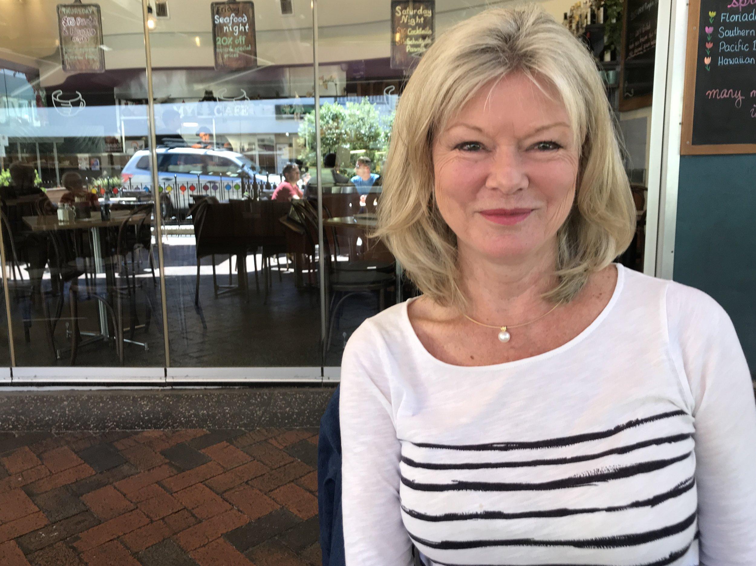 Susanne: journalist and skier