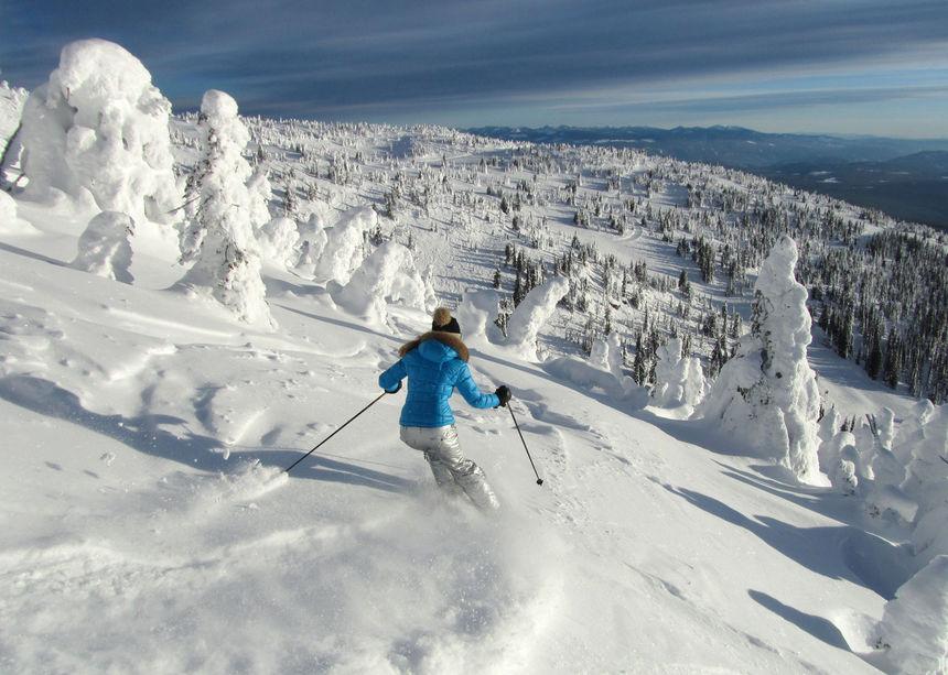Big White, Canada - image courtesy of  Snowpak