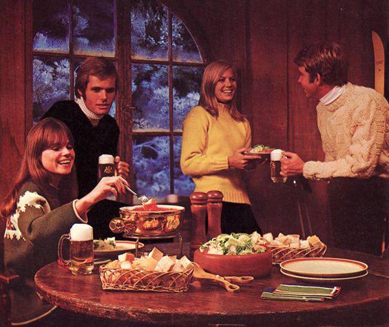 Apres-ski party - retro style