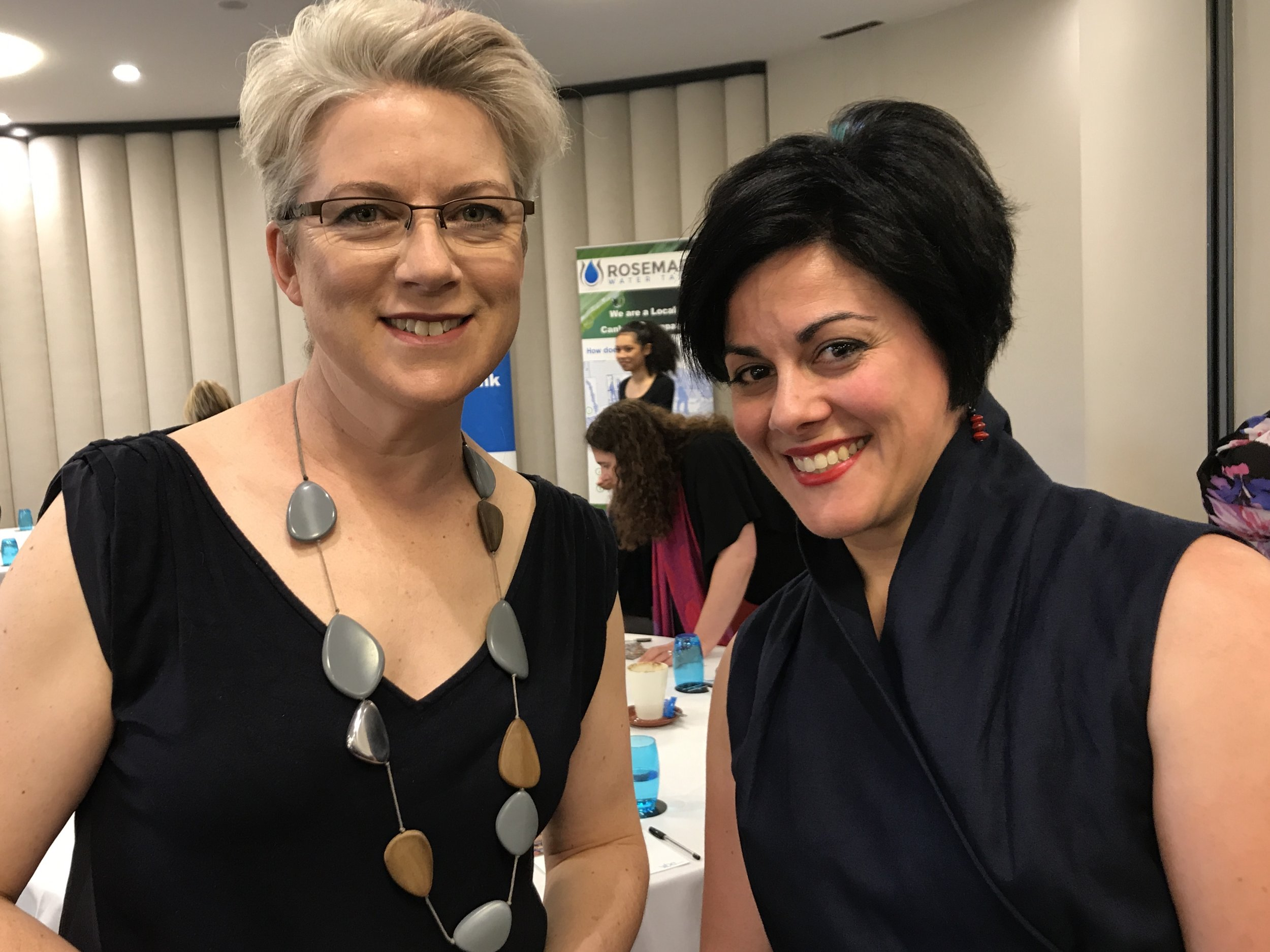 Planepack spotted @Airpocket's Trish Smith and Maria Filardo at a recent @canberrawisewomen event