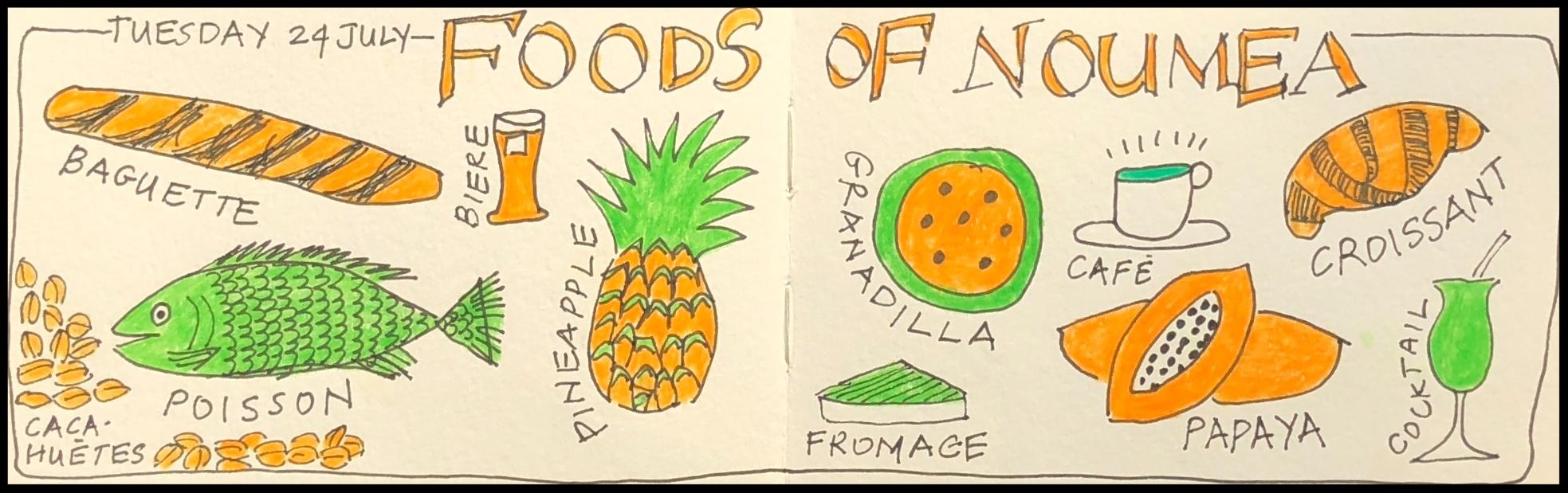 Foods of Noumea