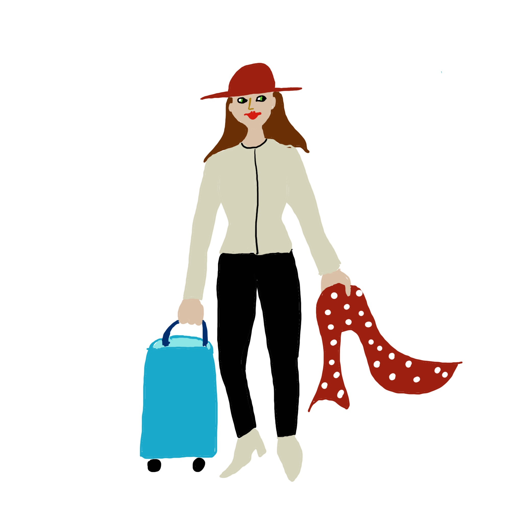 Going on a small group tour? Lighten your luggage load: carry one small bag only.