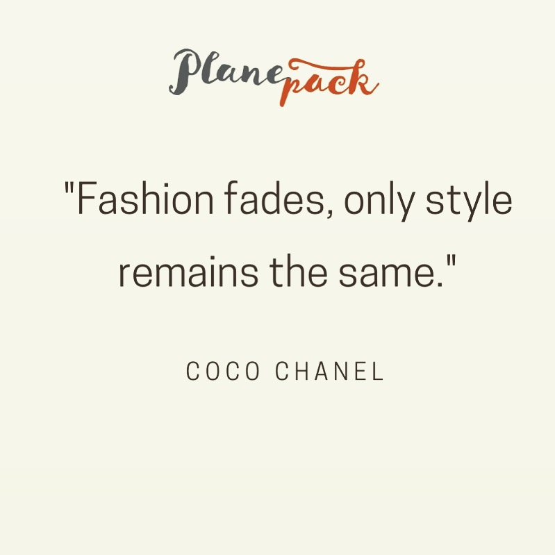 Planepack fashion