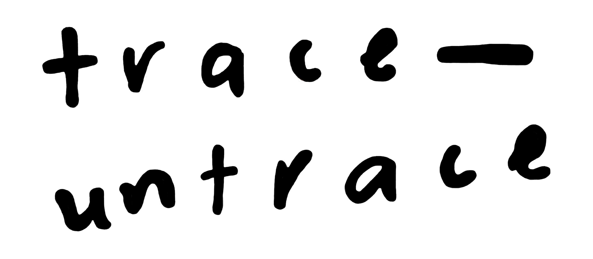 trace-untrace-bubbles