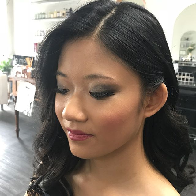 Stunning beauty Michelle for her school ball on the weekend.