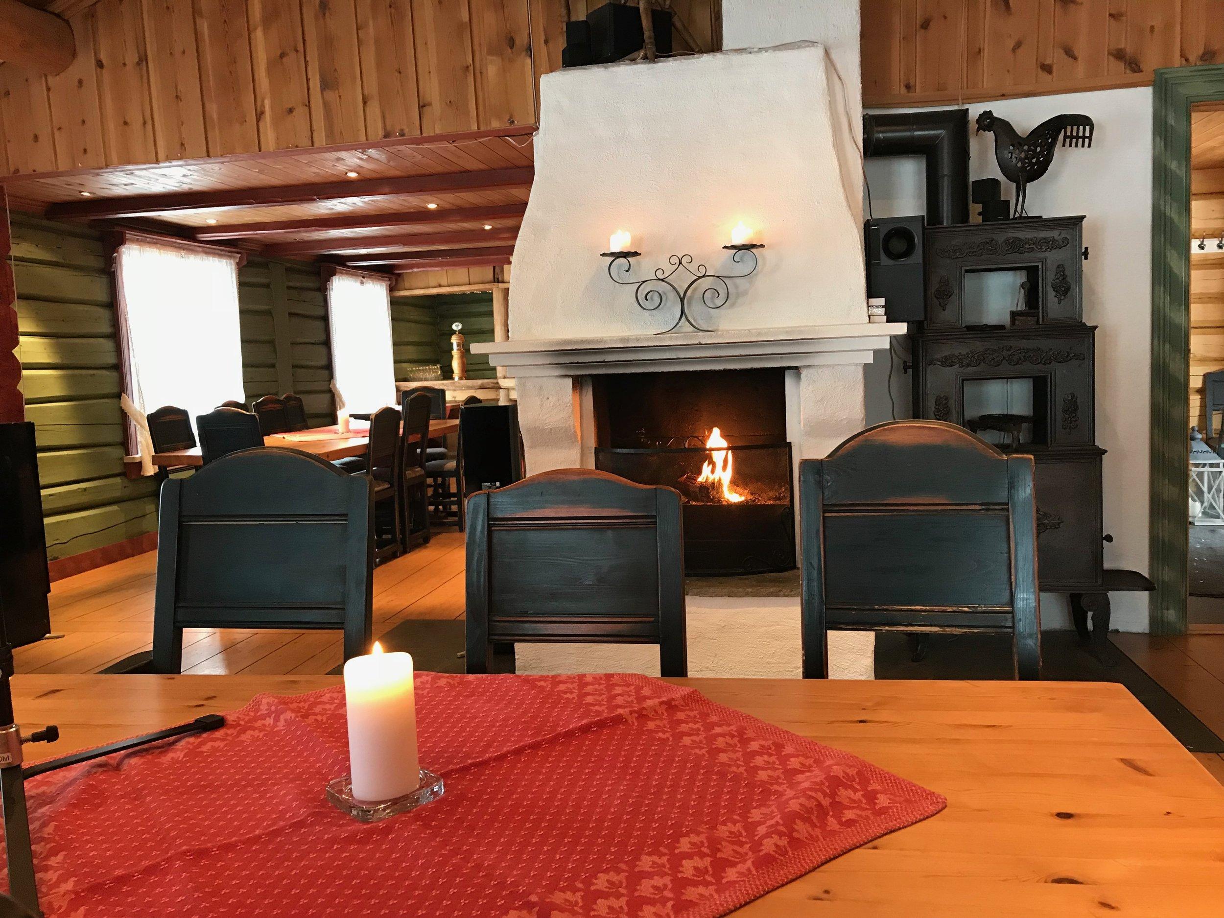 Timbra - Timbra er et 200-år gammelt tømmerhus, som tidligere var