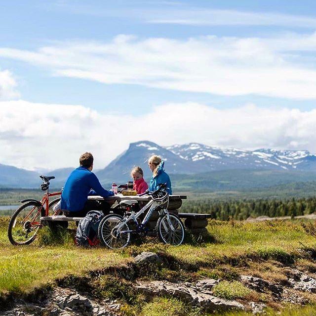 🚲Vurdert å ta med familien på sykkelferie i sommer? Da bør du sjekke ut @mjolkevegen 🗺 - Nasjonal sykkelrute nr5 strekker seg mellom Vinstra og Gol - omtrent midt på ruta ligger Vaset. Og, om vi må si det selv, et supert utgangspunkt for sykkelturer! 😁 Vi byr selvsagt på godt merkede ruter, sykkelkart og varierte turer for hele familien! - Finn din neste sykkeltur på hjemmesidene våre (link i bio☝🏻) - Vil dere prøve dere på hele ruta? Den er omtrent 250 km lang og er en opplevelse det er verdt å skrive hjem om! 👏🏻❤️ - #gomobu #gomobufjellstue #mjølkevegen #mjølkesyre #visitvaldres #valdres #vaset #vasetaktiv #sykkeltur #sykkelferie