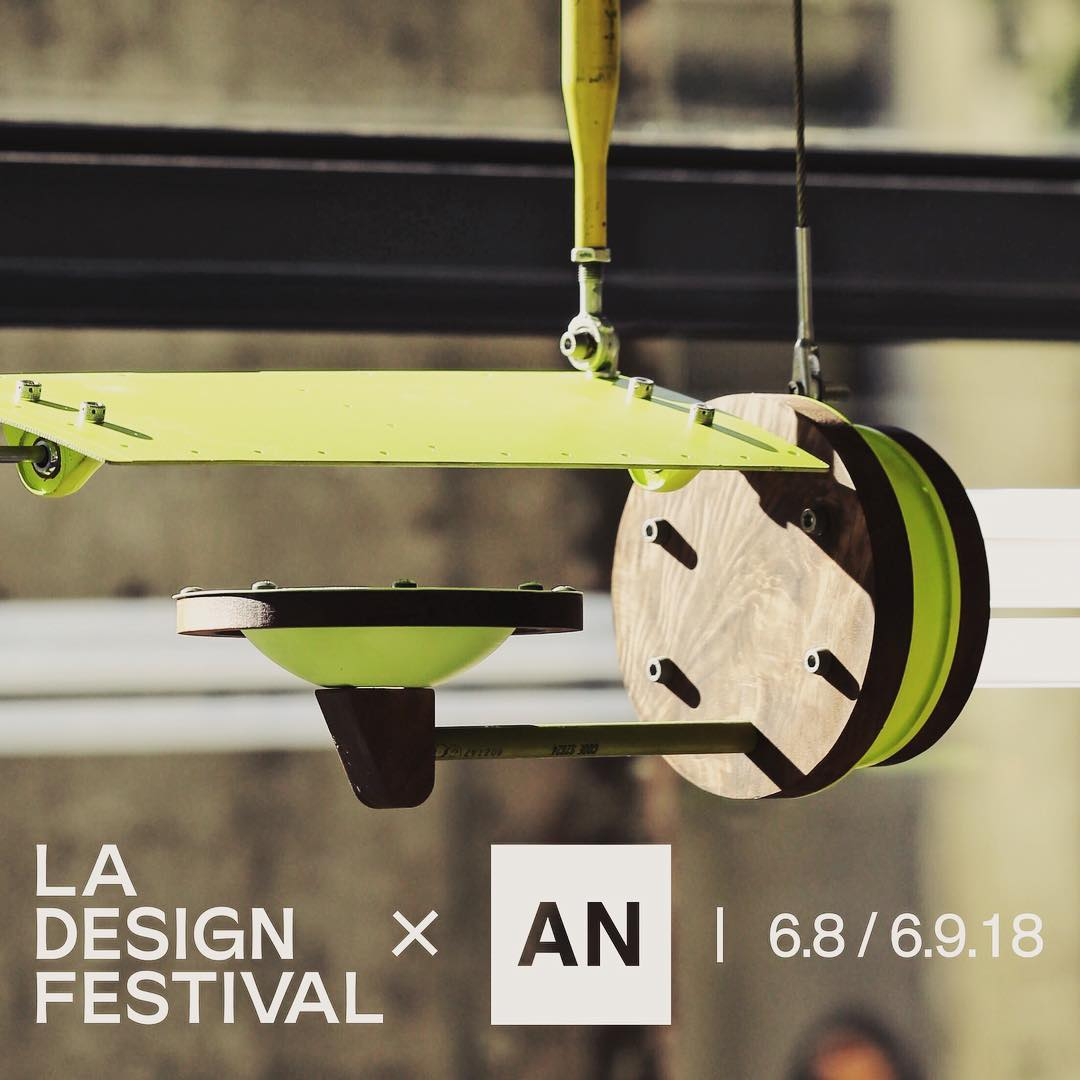 We were  @ladesignfestival  New Aileron was in Motion  @rowdtla  by Alper Nakri
