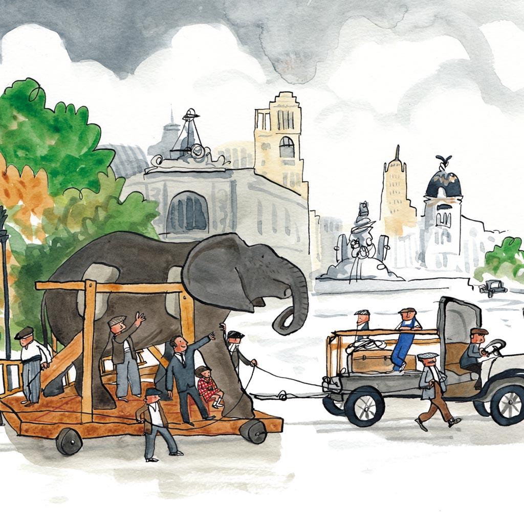 El elefante del museo , de Ximena Maier (PVP 25€)