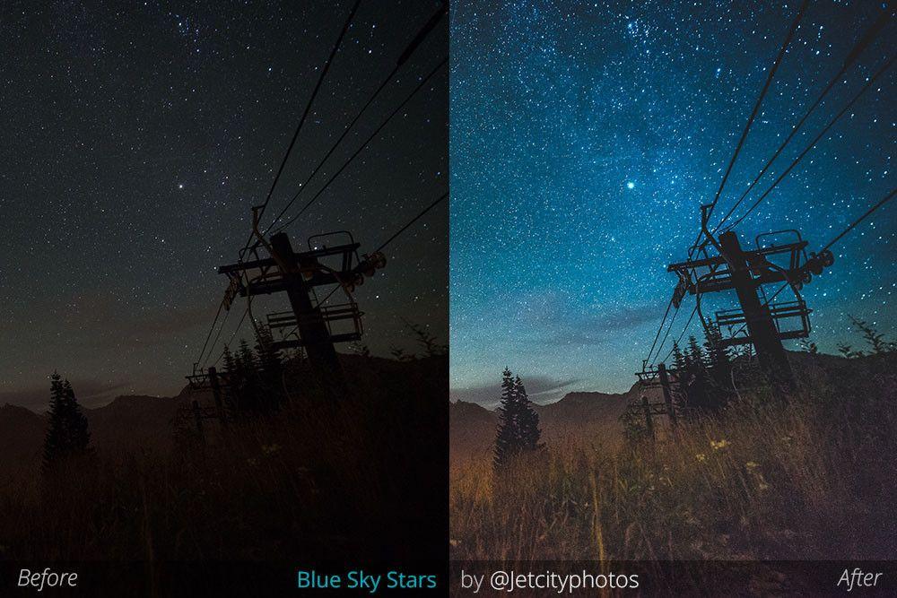 BLUE SKY STARS