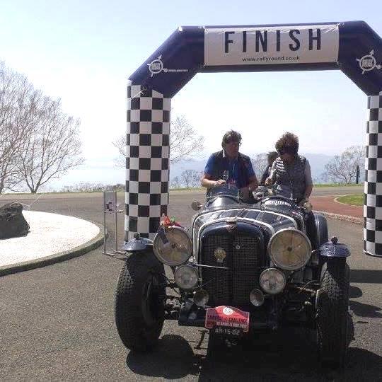Alvis Speed 25 Special after winning the 2017 Samurai Challenge