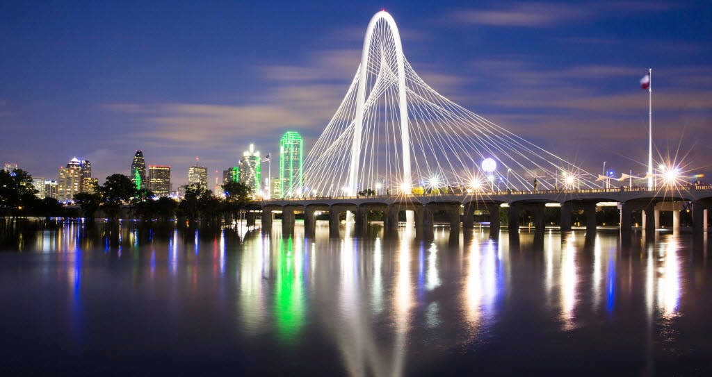 Dallas Trinity Groves Bridge