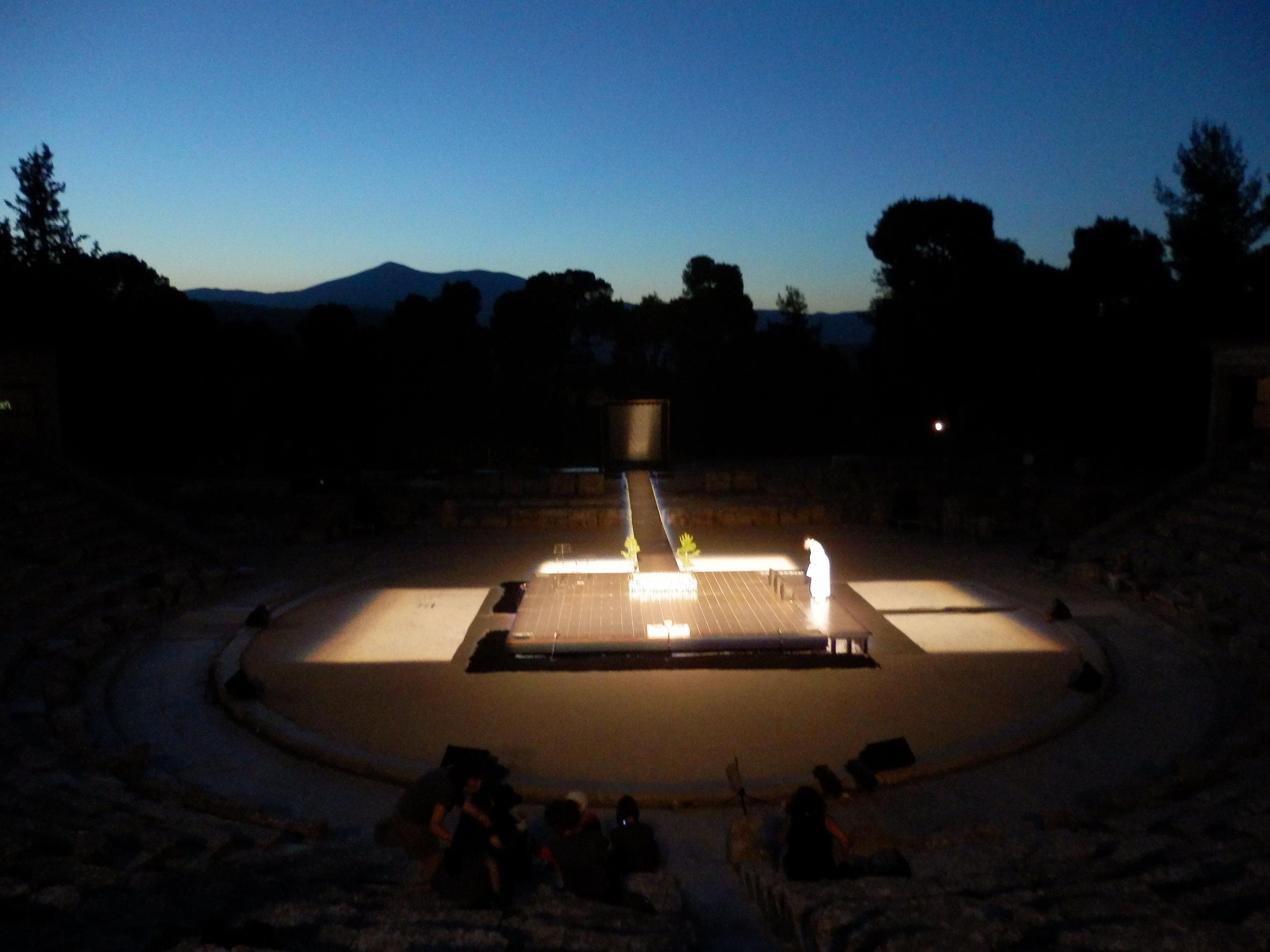 Noh - Nekya (Ancient Theatre of Epidaurus) 2015