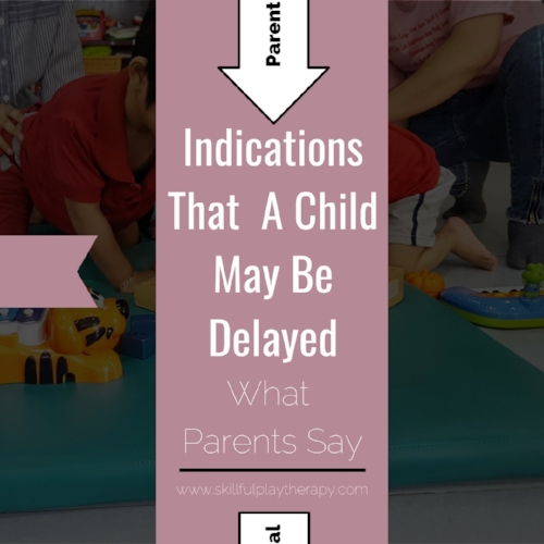 Indications That A Child May Be Delayed