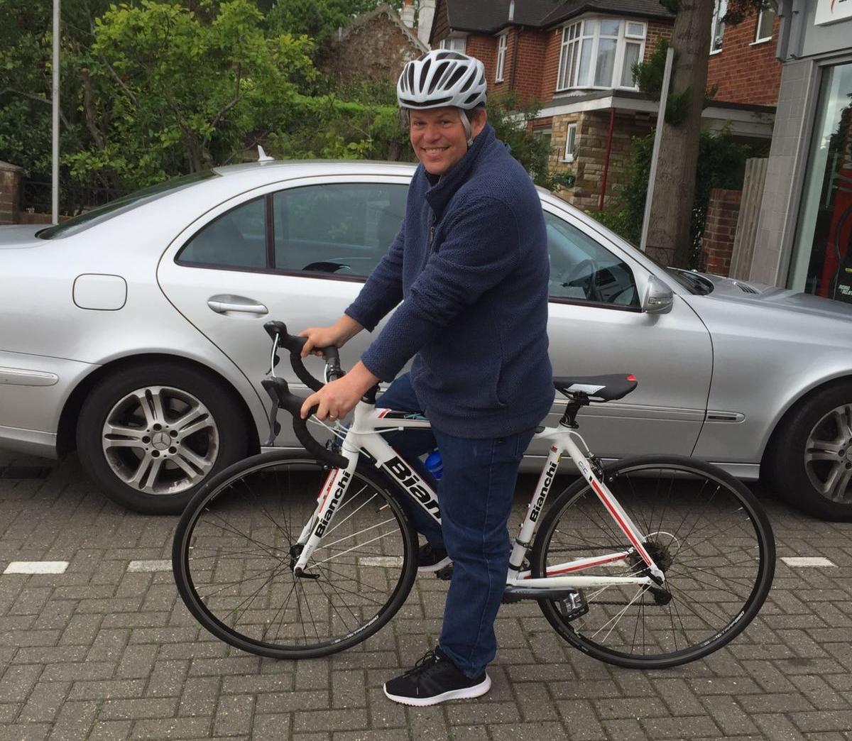 Rider for Toni John