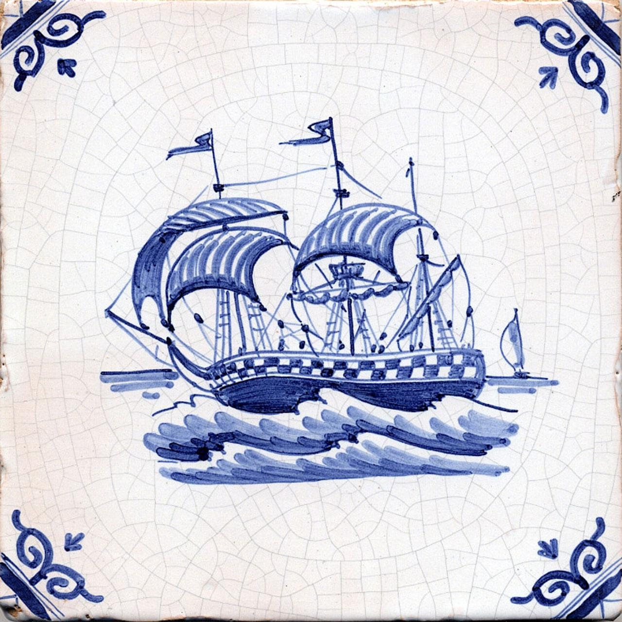 Example of Delft tile