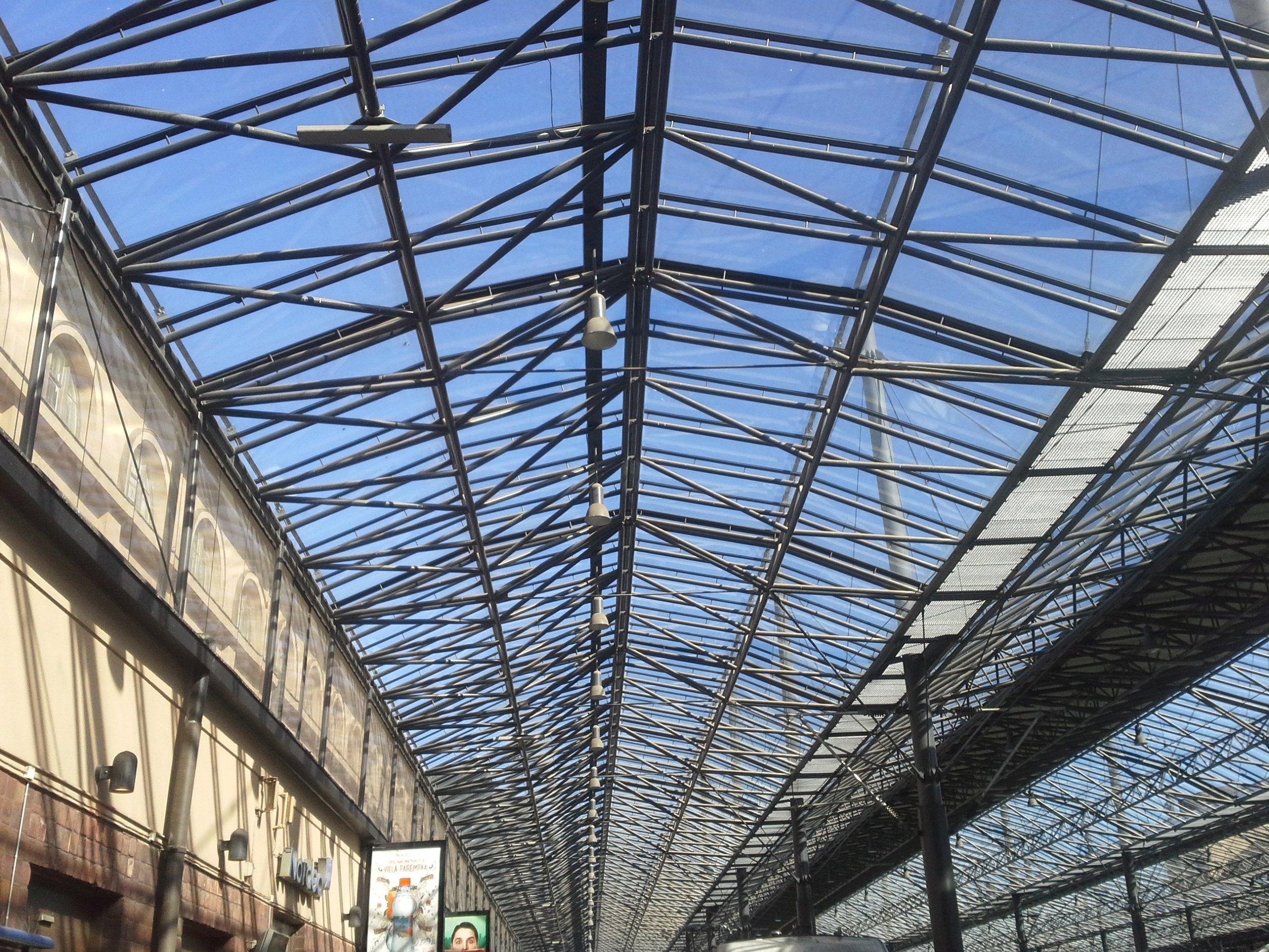 La stazione ferroviaria di Helsinki