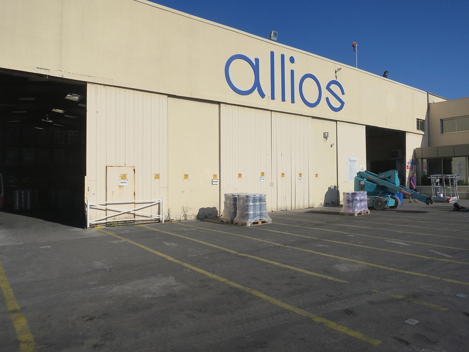 Allios Lackfabrik, Frankreich