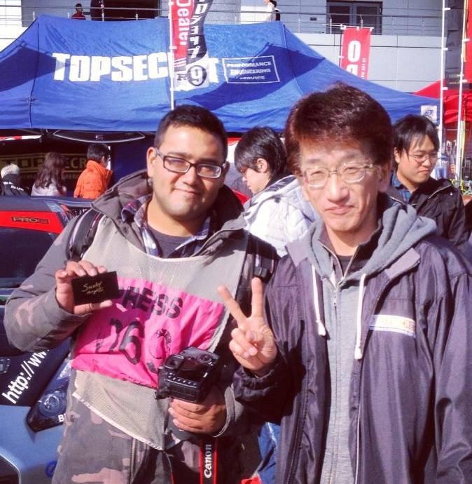 Fanboying with Smokey Nagata of Top Secret