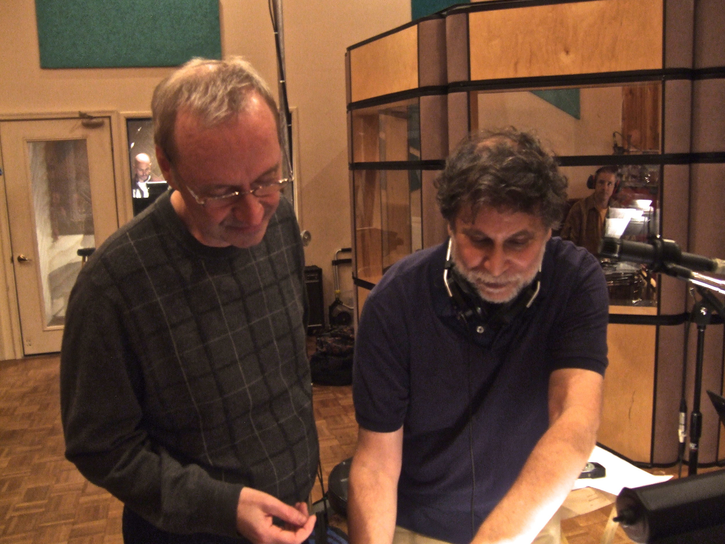 Producer Pete McGuinness instructs Brett Gold on how to avoid screwing things up even more.