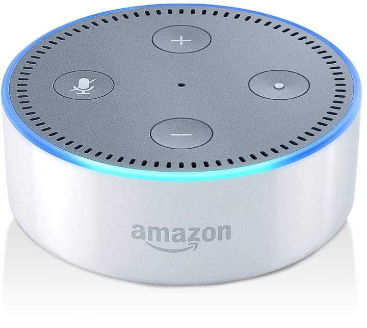 Amazon Echo Dot - We've had a Sonos speaker in our living room for some time and recently added an Amazon Echo Dot to the kitchen. It's great for having music playing in the background but also for quickly finding out the answers to recipe questions.