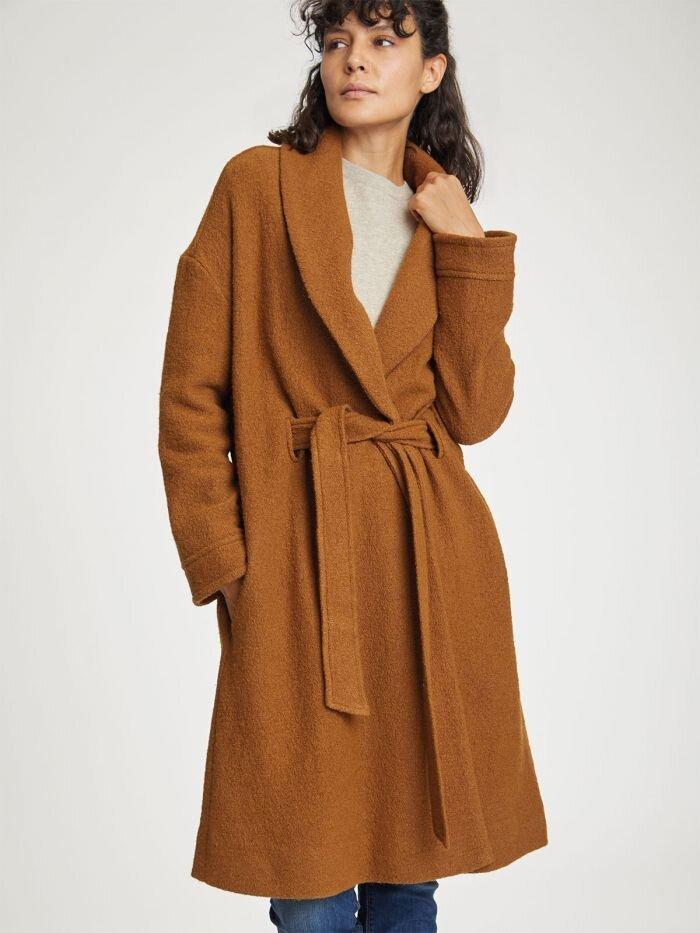 Jesper Wool Coat - Of course this coat is top of my list. The warm colours are perfect for autumn and the high neck wrap around collar keeps me warm, even on the coldest of days in the north of Scotland.