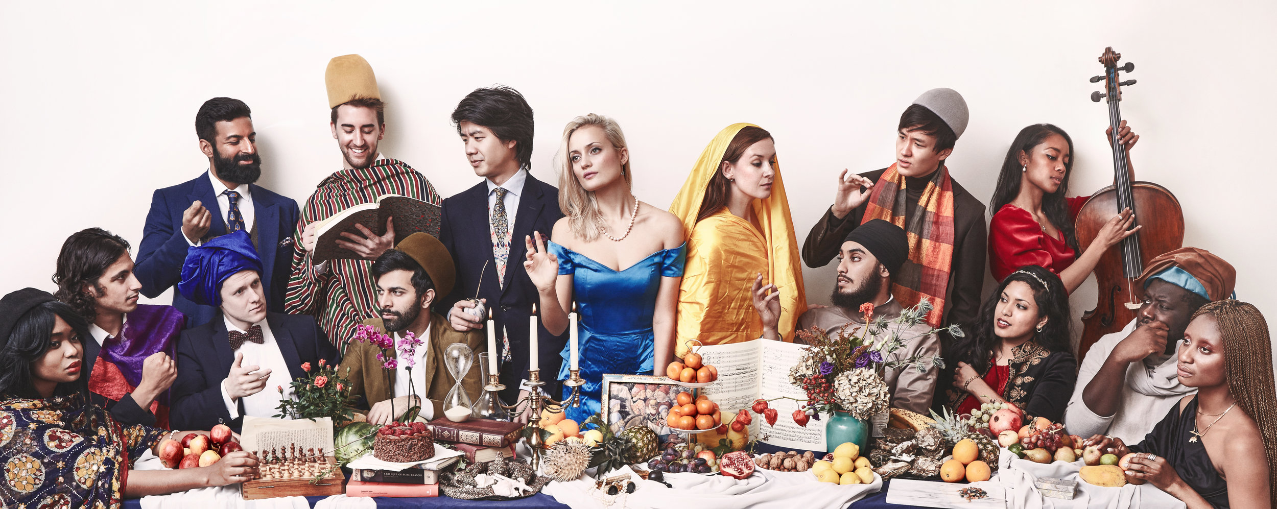 A 17th century inspired photoshoot of our salon community