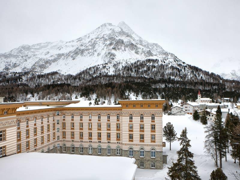 Our festival at Maloja Palace, St. Moritz, Switzerland